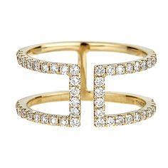 5/8 ct. tw. Diamond Ring in 10K Yellow Gold - 2170338