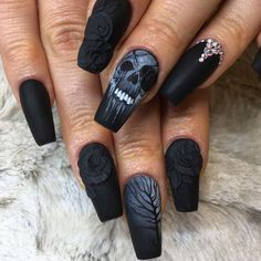 TRENDING: 66 Best Halloween Nail Art Designs for 2017 - Best Nail Art