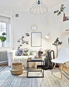 canape deco salon scandinave