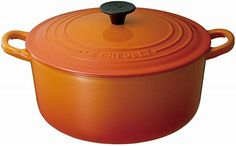 Le Creuset Enameled CastIron 2Quart Round French Oven Flame * Click on the image for additional details. (Amazon affiliate link)