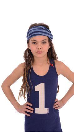 Summer Dress Racer navy Br@nd for girls summer 2016 www.brandforgirls.nl