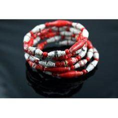 more paperbead bracelets