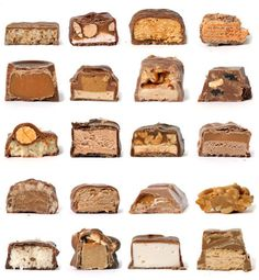 Interesting chocolate bar typology #typology #chocolate