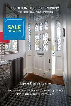 Victorian Door, Victorian Terrace, Beautiful Interior Design, Classic Interior, Front Door Design, Service Design, Contemporary Design, New Homes, Park House