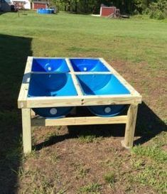 Plastic Barrel Raised Garden Bed To be able to have a wonderful Modern Garden Decoration, it is helpful to … Raised Planter, Raised Garden Beds, Raised Beds, Compost, Garden Organization, Diy Bed, Garden Planters, Organic Gardening, Vegetable Gardening