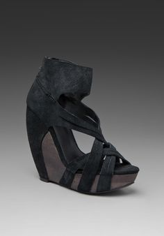 Joe's Jeans The Shoe By Joe's Gavin Wedge in Black. On sale at Revolve but only in SIze 9..boo