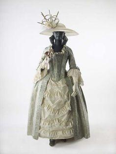 Dress ensemble, 1752-75
