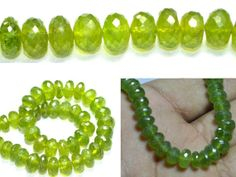 "Vesonite rondelle faceted beads 8"" strand as low as 18.61 per strand (22\11) $28.61 USD"