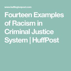 essay on racism in criminal justice system Write my research paper question description write a research/summary paper on the topic of racism in the criminal justice system, using the following structure and criteria: 1 introduction (at least 100 words) 2.