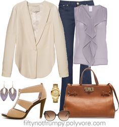 """""""Lunch with the Girls"""" by fiftynotfrumpy ❤ liked on Polyvore"""