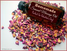 Valentine's Day always used to be a struggle, until I came up with this sensual homemade massage oil! |  DIY Natural
