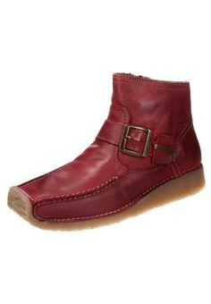 SOHO - Ankle boots - red