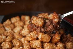 sloppy-joe-casaThis SLOPPY JOE CASSEROLE made from a delicious homemade Sloppy Joe recipe is topped with tater tots for the ultimate comfort food dinner!serole-content3