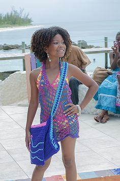 "thebahamasweekly.com - Bahamian actress, Leah Eneas debuts her crocheted line, ""Late Bloomer"""