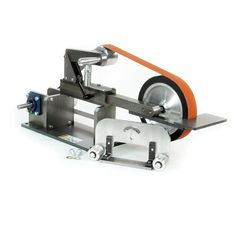 """Beaumont Metal Works : 10"""" KMG Grinder : KMG Belt Grinder Parts Knife Knives Industrial Commercial Metal Belt Grinders Sander USA"""