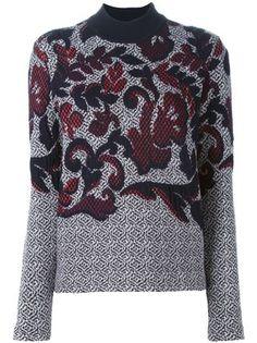 Tory Burch Floral Intarsia Sweater - Cuccuini - Farfetch.com