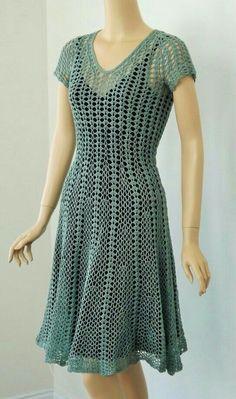 Hay tutorial de este vestido
