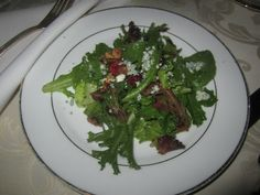 Arugula & Goat Cheese Salad with Walnuts