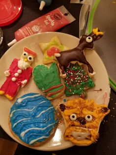 My boyfriend said he made holiday cookies… – Odd Stuff Magazine Christmas Story Lamp, 1st Christmas, Christmas Cards, Me And My Dog, Office Holiday Party, All Holidays, Holiday Cookies, Secret Santa, Painting For Kids