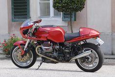 Motocykly Moto Guzzi V11 Sport Café - Galerie - Motocykl