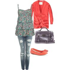 Casual Spring, created by cl-sugar on Polyvore