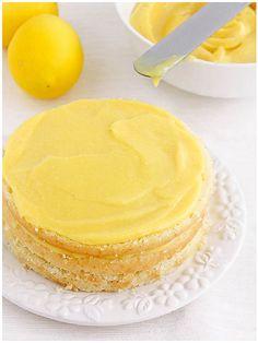 coconut meyer lemon cake