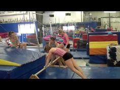C.R.A.G. Gymnastics Free Hip drills