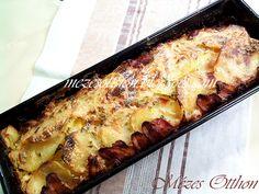 Ez a burgonyarolád tavaly júliusban került fel a blogra, én nagyon szeretem, köretként vagy vegyes salátával szoktuk enni. Szerintem m...