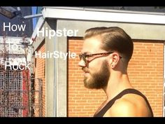 How To Rock Hipster HairCut   40s inspired hair style   Mens Hair   - YouTube