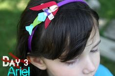 Disney Inspired Princess Ribbon Sculpture Day 3: Ariel