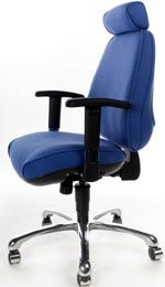Orthopaedia Posture Chair offering coil sprung seat and back for maximum comfort #coilsprings #posture #officechair