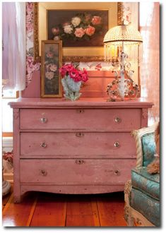 Shabby Chic Romance Country Painting, Low VOC Paint, Chalk Paint, Milk Paint, Country Style Furniture, Antique Painted Furniture,