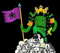 Coronavirus corona skull virus crown king  covid19