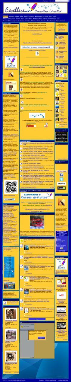 VISITÁ 'http://excellereconsultoraeducativa.ning.com'  La red para educadores.