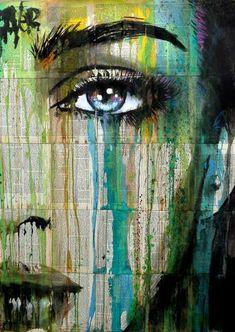 "Saatchi Art Artist LOUI JOVER; Drawing, ""connection"" #art"