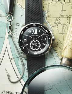 Cartier diver watch