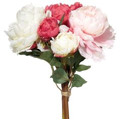 Faux Peonies Bunch