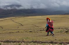 Ausangate Trek Day 5 - Walking to Tinqui   by Patrick Cadieux