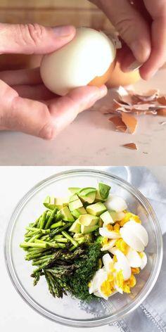 Healthy Meal Prep, Easy Healthy Recipes, Healthy Cooking, Healthy Snacks, Healthy Eating, Cooking Recipes, Best Egg Salad Recipe, Best Salad Recipes, Mexican Food Recipes