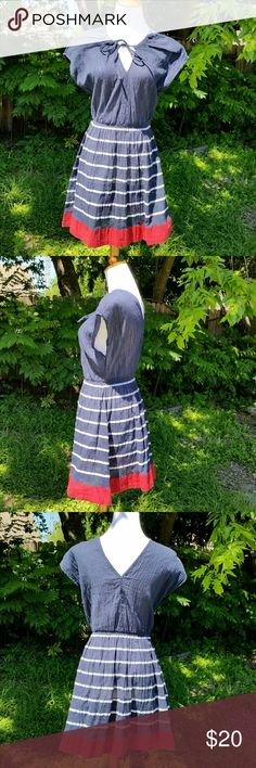 OMG SO CUTE! French Connection dress! Super super adorable. Love this dress. No holes or stains. Excellent condition. Great color combos. French Connection Dresses
