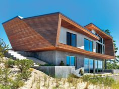 Bauhaus-Style Cape Cod House Gets A Guesthouse by Hariri