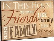"P. Graham Dunn ""FRIENDS & FAMILY"" Mounted Wall Art Print 18x12""  Picture ART0210"