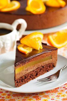 Orange Chocolate Mousse Cake by Anjelika Gretskaia on 500px