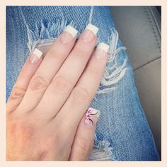 Spring manicure done by a nice man :)