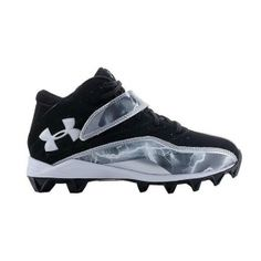 SALE - Under Armour Crusher III Football Cleats Kids Black - BUY Now ONLY $44.99