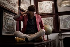 Men at Work: Men at Work: Men's Fashion for the Guardian. Plus SIMON REEVE.