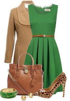 Зеленое платье, с чем носить   Мода 2015, фото, модные советы стилиста, форум
