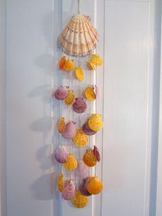 Seashell Windchime by Bitsofthebeach on Etsy