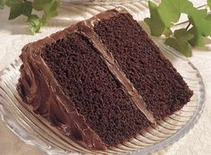 Chocolate Cake Recipe, but the frosting recipe is the best I have ever had Triple Layer Chocolate Cake, Old Fashioned Chocolate Cake, Cake Chocolate, Chocolate Heaven, Homemade Chocolate Frosting, Chocolate Recipes, Chocolate Cake Recipe With Boiling Water, Delicious Chocolate, Hershey Recipes