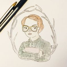 """Barb from Stranger Things by Mariel Ashlinn Kelly - """"I have been both a Barb and a Nancy in my life. The loser girl who wanted to be cool and the square who didn't care. ❤ I think it's okay to be both. In a world of underdeveloped female characters: be a Nancy AND a Barb. Don't let anyone reduce you to a false dichotomy or take you for granted."""""""